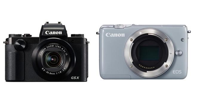 Canon am tham ra mat EOS M10 va PowerShot G5 X hinh anh