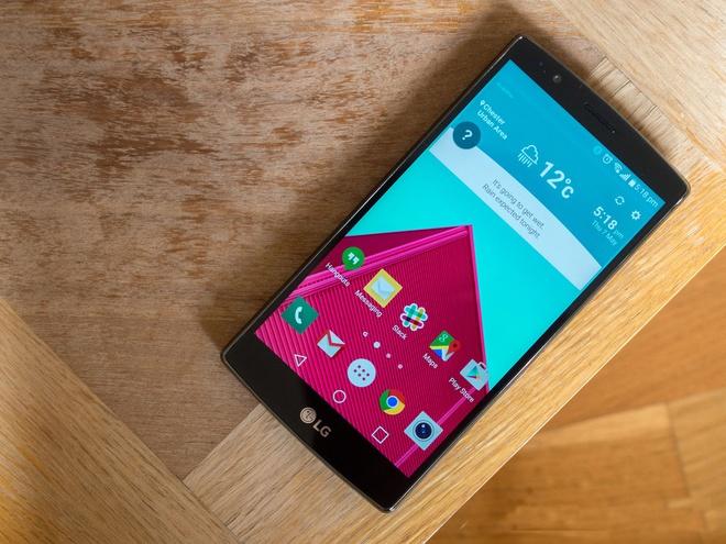 LG G4 nhan ban cap nhat Android Marshmallow tuan sau hinh anh