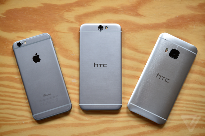 HTC vay muon thiet ke iPhone co phai van de lon? hinh anh