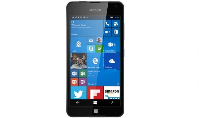 Xuat hien smartphone bi an tu Microsoft, co the la Lumia 650 hinh anh