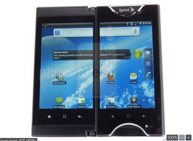 Bạn có thể mở 2 màn hình theo chế độ tablet