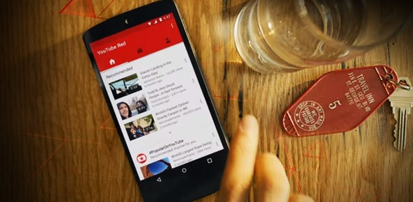 YouTube Red ra mat: Chan quang cao, xem video offline hinh anh