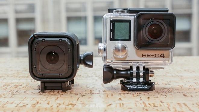 GoPro bi to an cap thiet ke may anh Cube cua Polaroid hinh anh