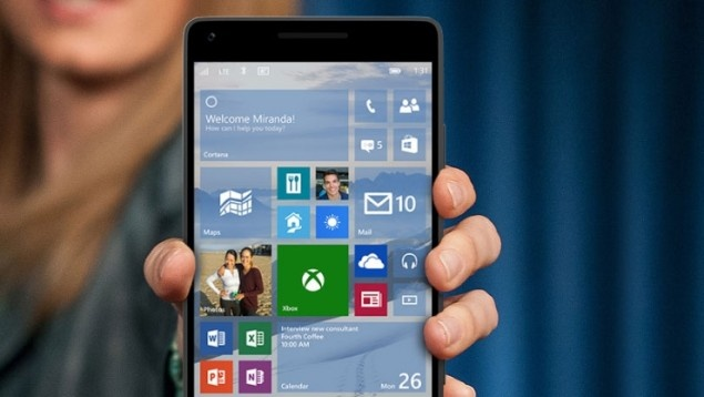 Lich cap nhat Windows 10 Mobile cho Lumia doi cu hinh anh