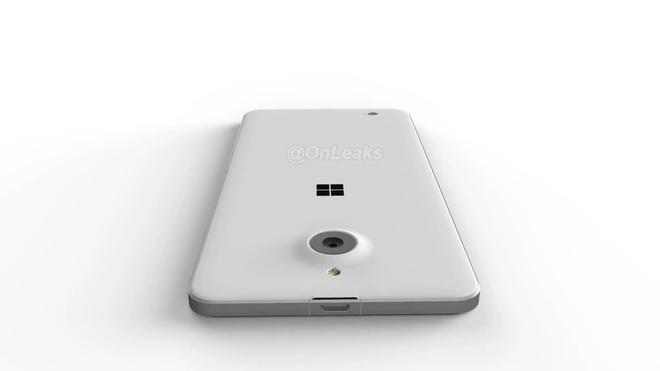 Lo dien Lumia 850 dang mong, khung kim loai hinh anh