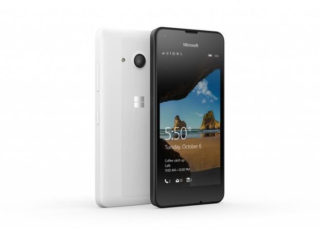 Lumia 550 len ke tai mot so thi truong, gia 139 USD hinh anh