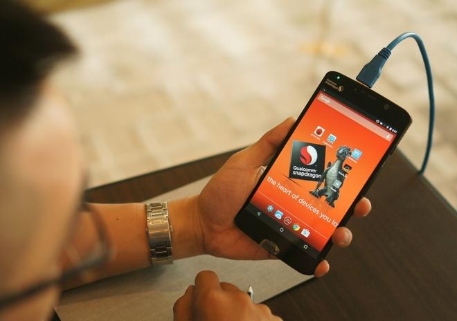 Smartphone thu nghiem Snapdragon 820 ghi 130.000 diem AnTuTu hinh anh