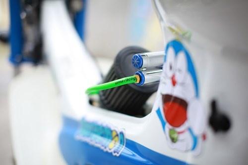 Honda Chaly phien ban Doremon 130cc: Nho ma co vo hinh anh 9