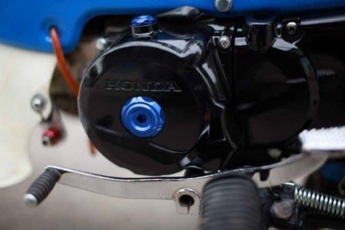 Honda Chaly phien ban Doremon 130cc: Nho ma co vo hinh anh 12