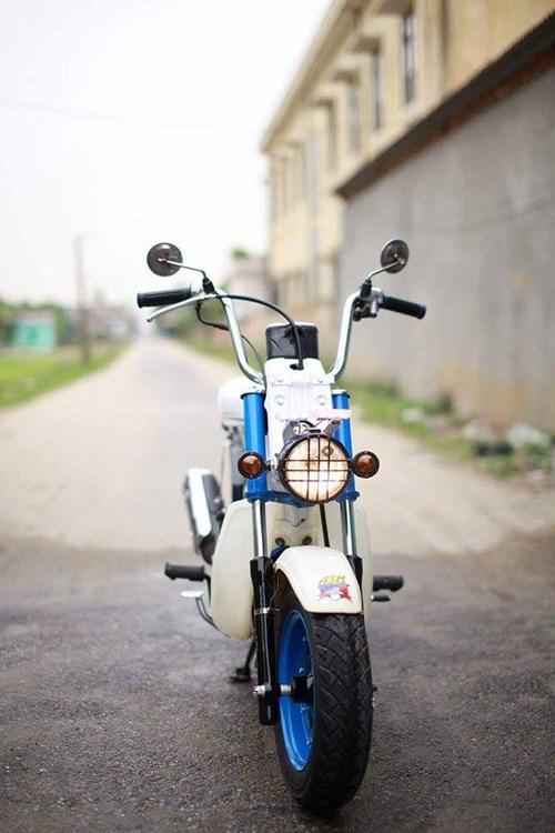 Honda Chaly phien ban Doremon 130cc: Nho ma co vo hinh anh 13