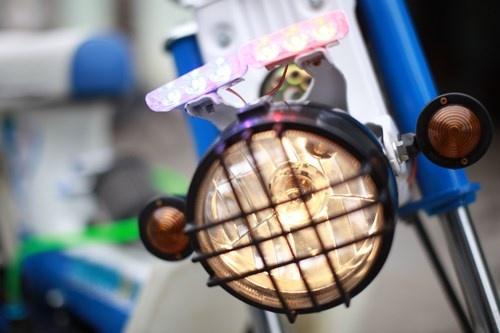 Honda Chaly phien ban Doremon 130cc: Nho ma co vo hinh anh 3