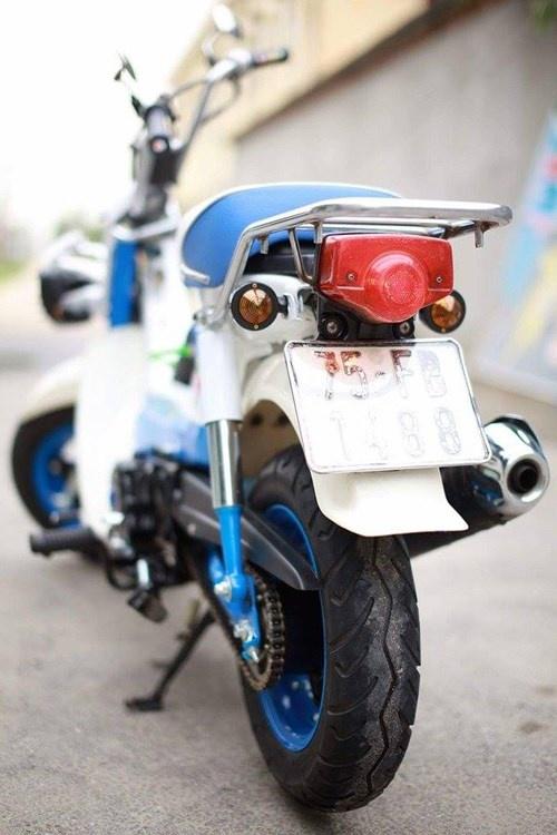 Honda Chaly phien ban Doremon 130cc: Nho ma co vo hinh anh 14