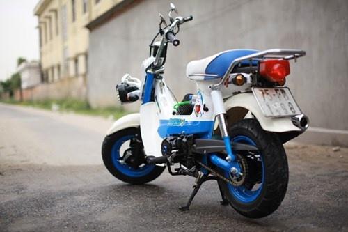 Honda Chaly phien ban Doremon 130cc: Nho ma co vo hinh anh 2