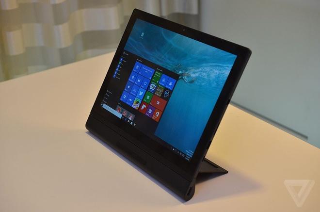 Tablet bien thanh laptop, may chieu, camera 3D tu Lenovo hinh anh