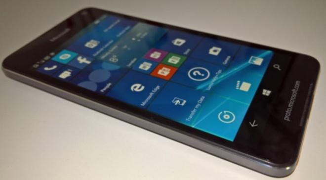 Xuat hien anh thuc te cua Lumia 650 hinh anh