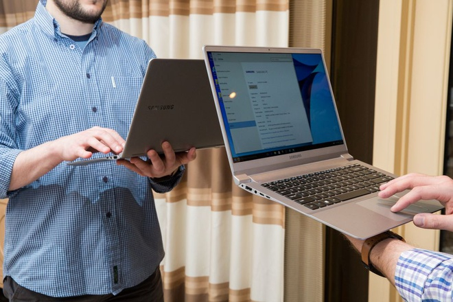 Laptop sieu mong, nhe tu Samsung thach thuc MacBook Air hinh anh