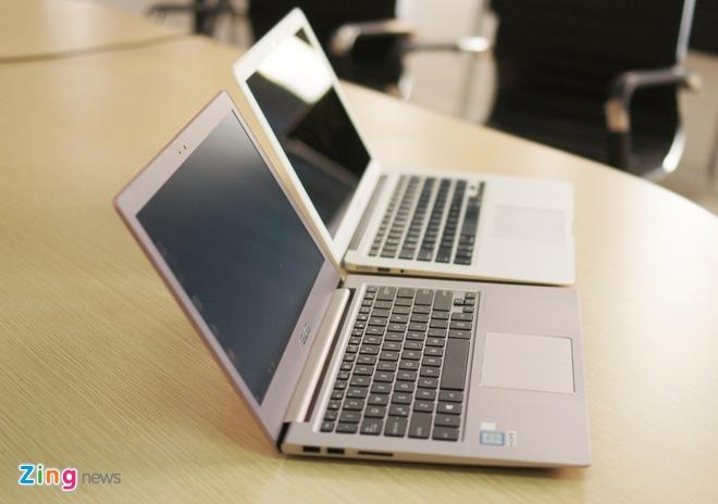 Can canh laptop mau vang hong dau tien tai Viet Nam hinh anh 11