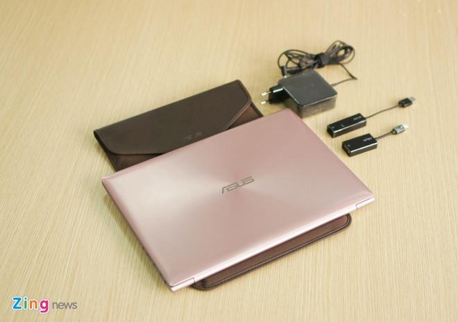Can canh laptop mau vang hong dau tien tai Viet Nam hinh anh 1