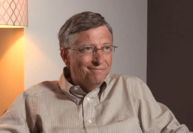 Bill Gates tung nho het bien so xe nhan vien hinh anh