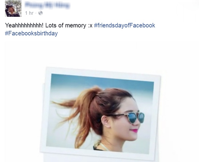 Nguoi dung Facebook Viet ram ro tung video 'Friends Day' hinh anh 1