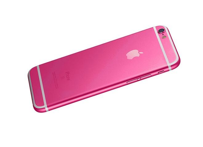 iPhone 5SE co ban mau hong thay cho mau vang hinh anh