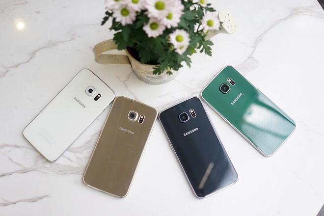Galaxy S6 Edge giam 2,5 trieu, don duong cho S7 hinh anh