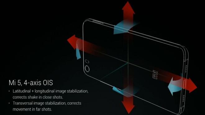 Xiaomi khoe kha nang chong rung vuot troi cua camera Mi 5 hinh anh 1