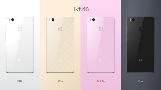 Xiaomi Mi 4s ra mat, gia ban hon 250 USD hinh anh 2