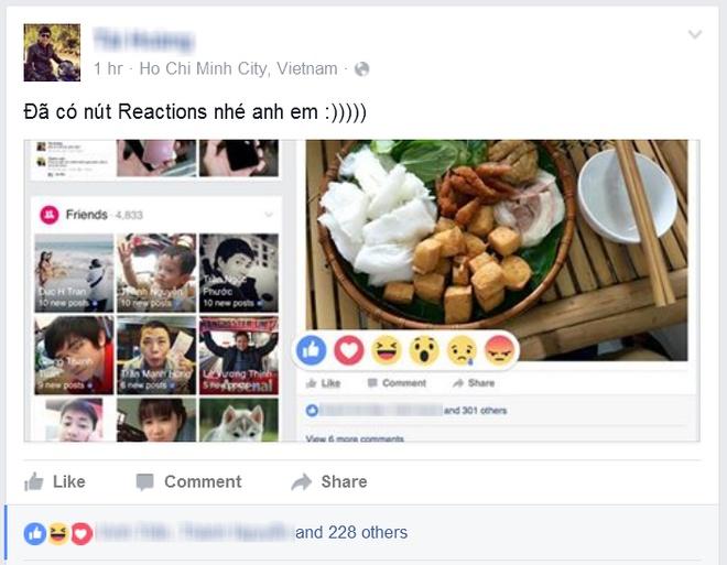 Bieu tuong cam xuc moi tren Facebook da co mat tai Viet Nam hinh anh 1