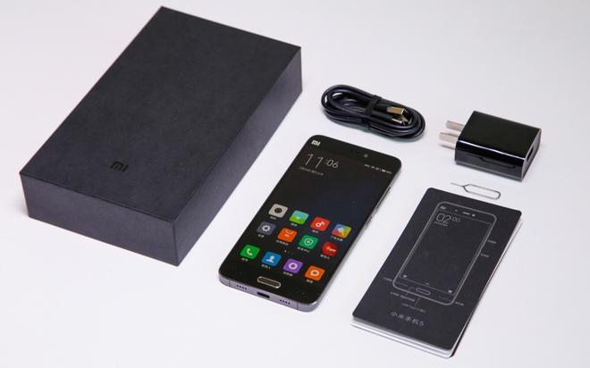 Mo hop Xiaomi Mi 5 - smartphone co thiet ke dep hinh anh