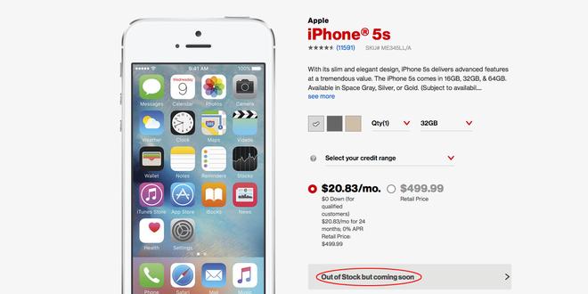 iPhone 5S can hang truoc thoi diem ban SE ra mat hinh anh 1