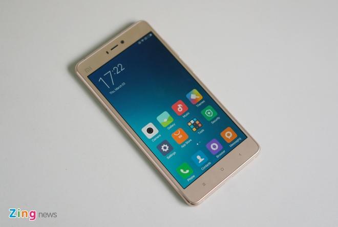 Xiaomi Mi 4s dang dep, cau hinh cao gia gan 7 trieu tai VN hinh anh 1