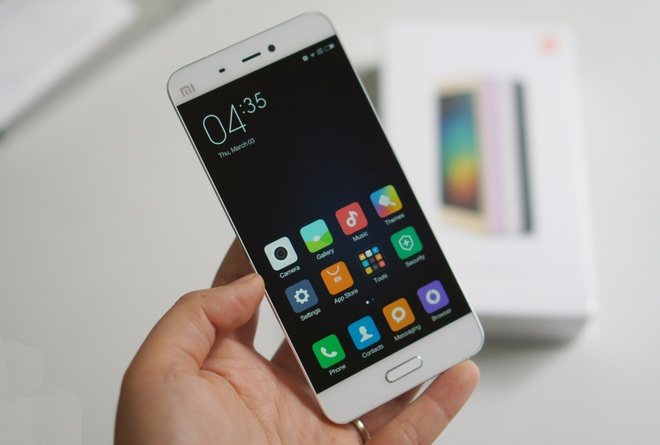 Xiaomi ban 4 trieu chiec Mi 5 trong dot dau tien hinh anh