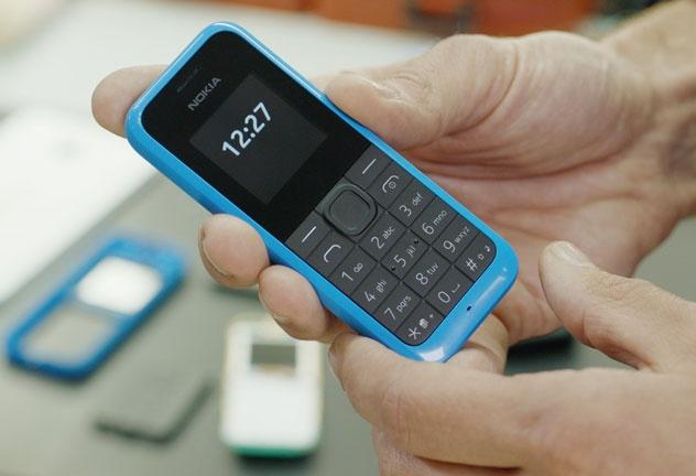 Nokia 105 la dien thoai yeu thich cua khung bo hinh anh 1