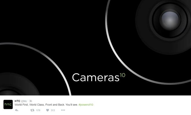 HTC 10 se co camera dang cap the gioi hinh anh 1