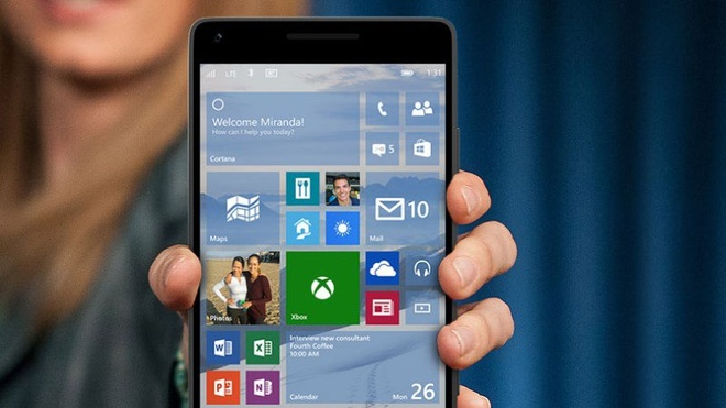 Lumia doi cu bat dau nhan cap nhat Windows 10 Mobile hinh anh