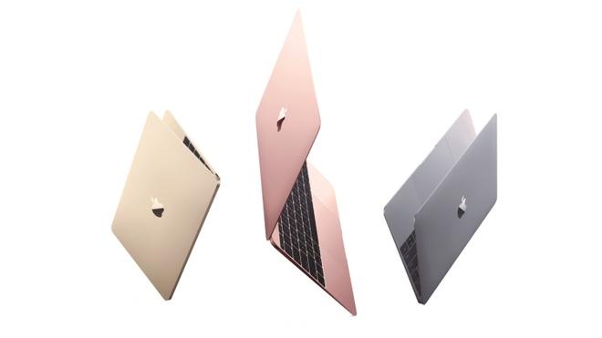 Apple nang cap MacBook voi pin khoe hon, them mau vang hong hinh anh 1