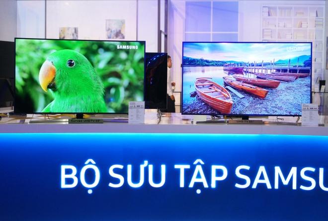 TV Samsung SUHD khong vien gia tu 32 trieu dong tai VN hinh anh 11