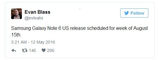 Galaxy Note 6 ra mat thang 8 anh 1