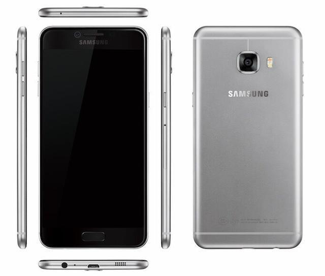 Galaxy C5,  C7 lo dien anh 1