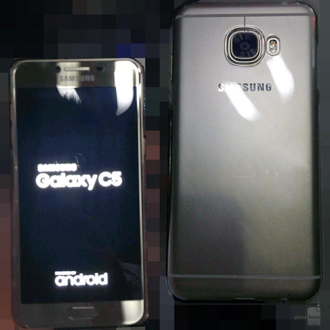 Galaxy C5,  C7 lo dien anh 3