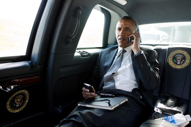 Nhung thiet bi cong nghe phuc vu ong Obama hinh anh
