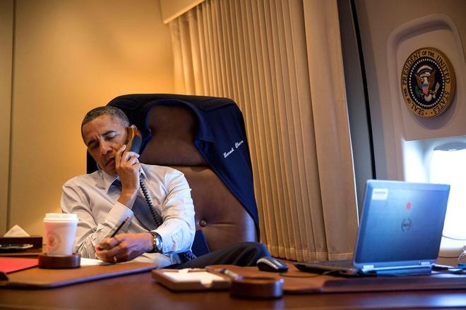 Nhung thiet bi cong nghe phuc vu ong Obama hinh anh 3