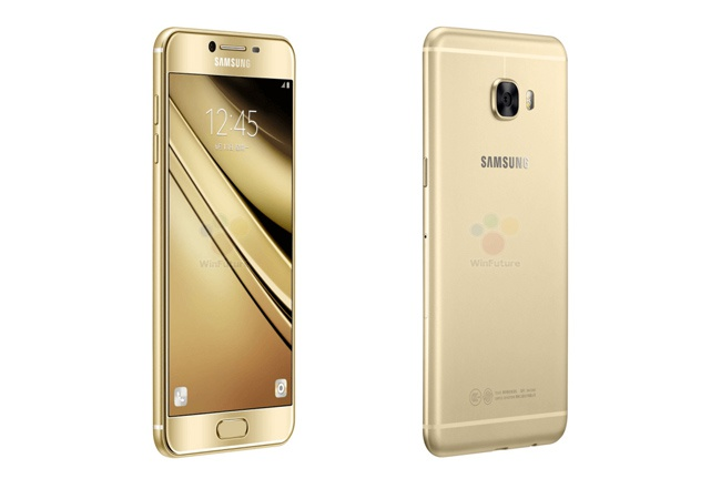 Galaxy C5 lo anh chinh thuc truoc gio ra mat hinh anh