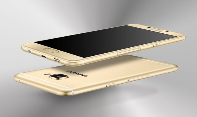 Samsung ra mat Galaxy C5, C7 dang sieu mong, RAM 4 GB hinh anh