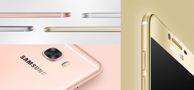 Samsung ra mat Galaxy C5, C7 dang sieu mong, RAM 4 GB hinh anh 3