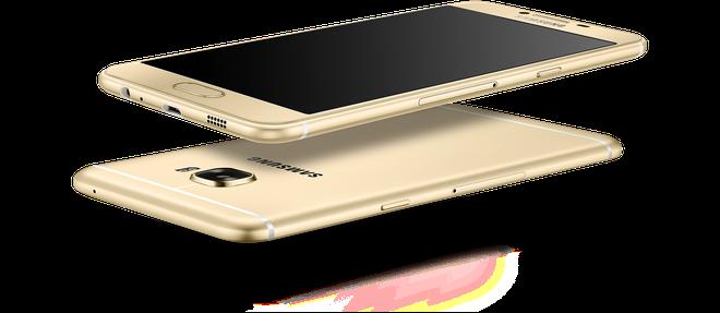Samsung ra mat Galaxy C5, C7 dang sieu mong, RAM 4 GB hinh anh 1