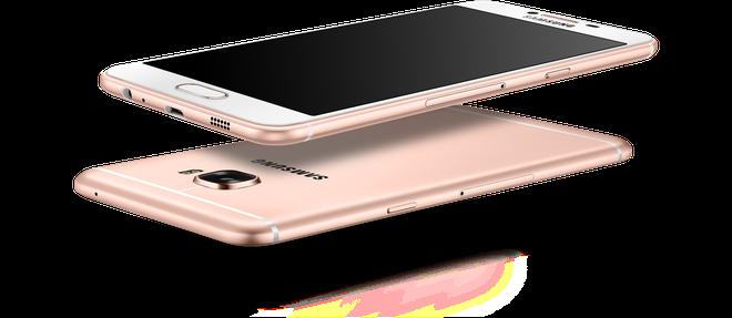 Samsung ra mat Galaxy C5, C7 dang sieu mong, RAM 4 GB hinh anh 2