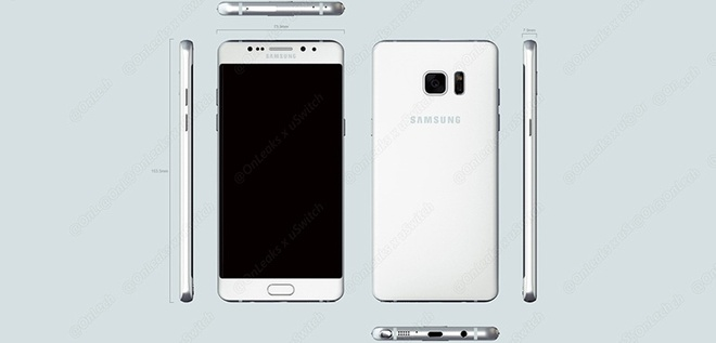 Lo anh, video dau tien ve Galaxy Note 6 edge hinh anh 2