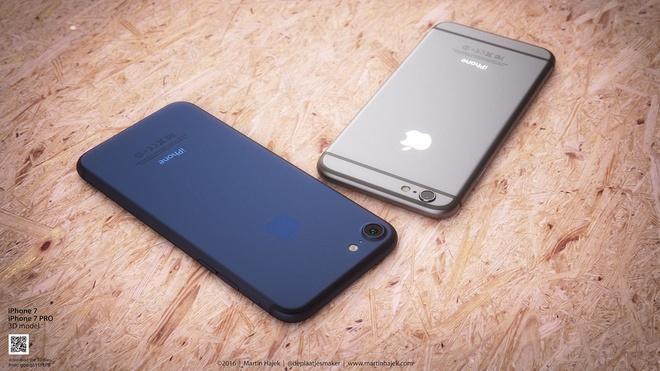 Nhieu loan thong tin ve iPhone 7 hinh anh